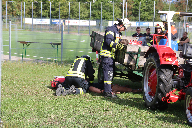 Tag der offenen Tür Feuerwehr Hanweiler 2018 Übung (12)