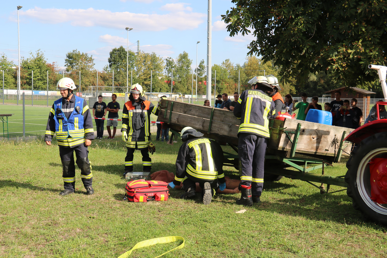 Tag der offenen Tür Feuerwehr Hanweiler 2018 Übung (14)