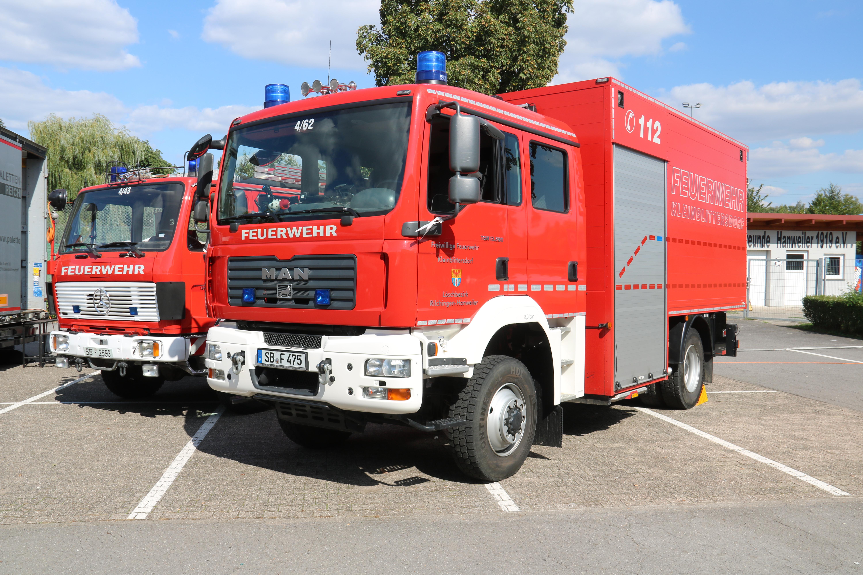 Tag der offenen T├╝r Feuerwehr Hanweiler 2018 Er├Âffnung (30)