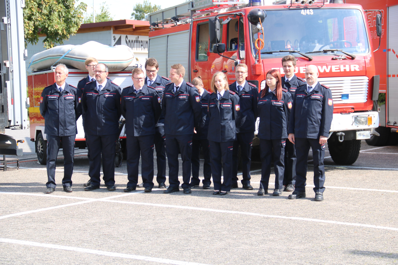 Tag der offenen T├╝r Feuerwehr Hanweiler 2018 Er├Âffnung (5)