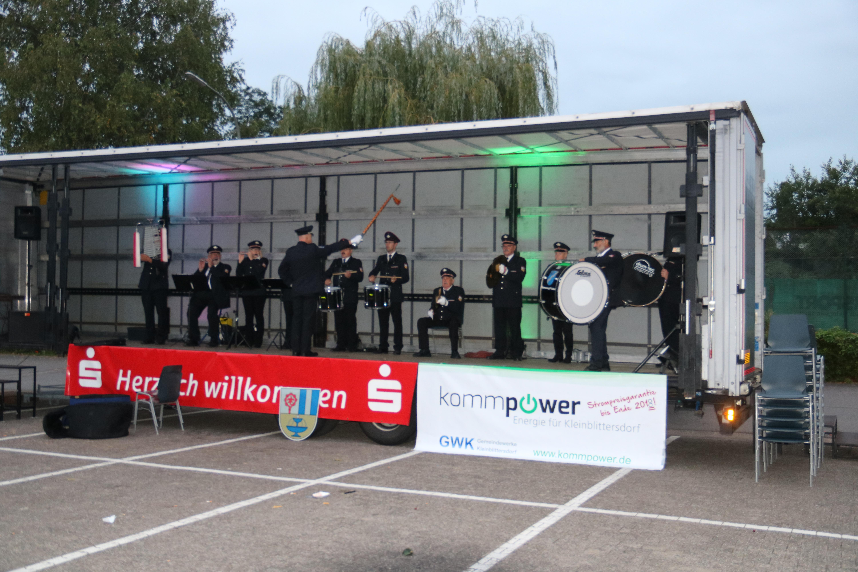 Tag der offenen T├╝r Feuerwehr Hanweiler 2018 Musikzug Sulzbach (1)